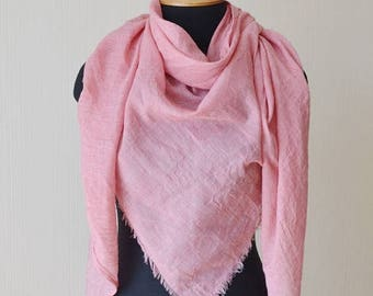 christmas in july birthday gift|for|her pink scarf girlfriend gift cotton gauze scarf shawl beach scarf womens gift summer scarf womens scar