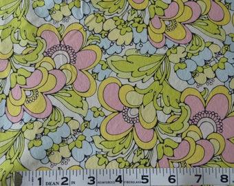 Item 280, 100% Cotton by Wavy Fabric, 1 3/4 Yard