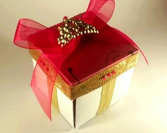 Exploding Box Quinceanera Invitation Exploding Boxes Exploding Box Cards 3D Cake Handmade