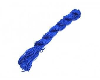 22 m nylon string 1 mm dark blue