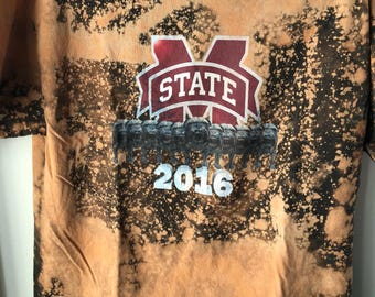 Distressed Mississippi State Tee