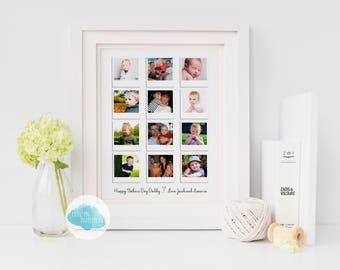 FRAMES Personalised Polaroid Print