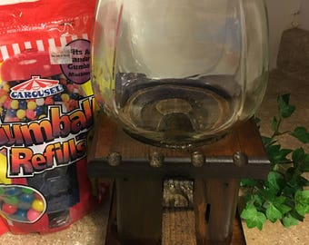 Vintage Gumball Machine 1980, Home and Living Candy Dispenser Gumballs included