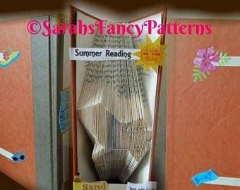 Summer Sale Deck Chair - Book Folding Pattern