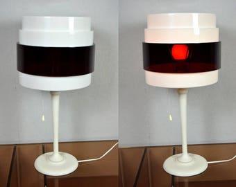 Vintage table lamp, plastic / Energi Rock / Magnus Elebäck & Carl Öjerstam   70s