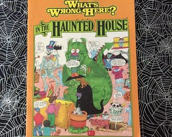 WHAT'S WRONG HERE? In The Haunted House (Children's Activity Book)