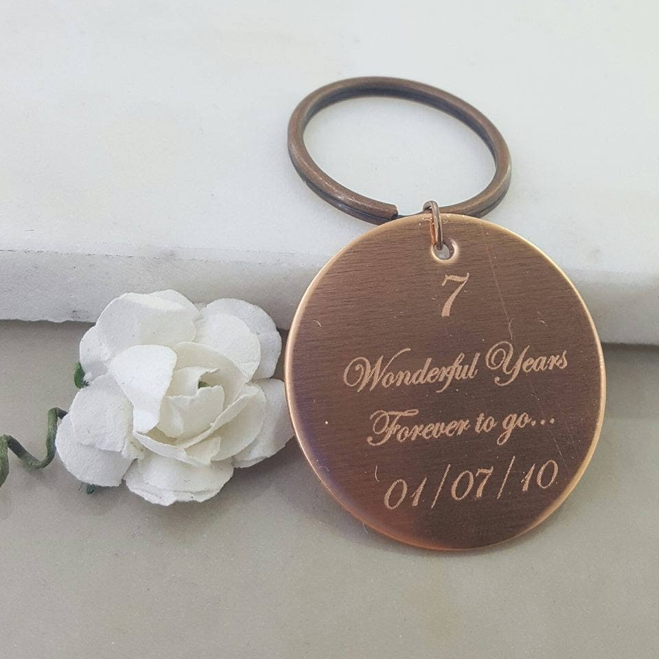 Copper Anniversary Gift Gift For Husband Gift For Wife Forever To