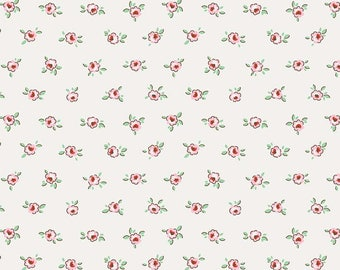 1 Yard Little Dolly by Elea Lutz for Penny Rose Fabrics 6366 Pink Rose