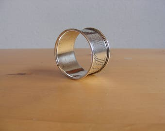 Vintage 800 silver napkin ring