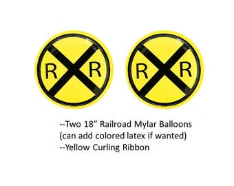 Railroad Balloons