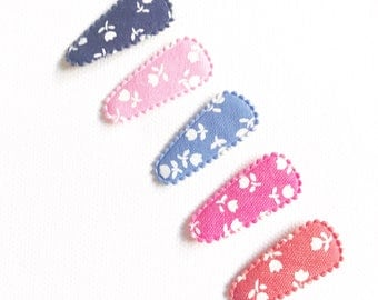 Baby/Toddler snap clips - Flowers