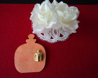 French vintage Christian Dior Dune perfume brooch / pin (06081)