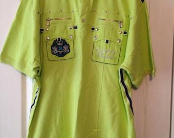 Lot of 4 Coogi short sleeve shirts size XXL