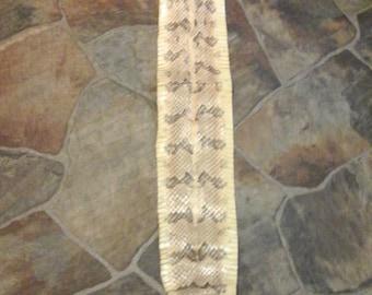 Rattle Snake Skin Cane break rattle snake