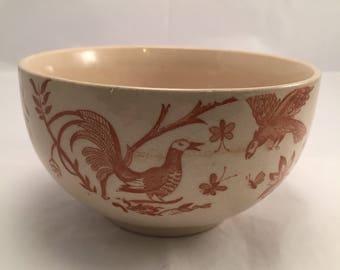 Ironstone ceramic kitchen round sugar bowl