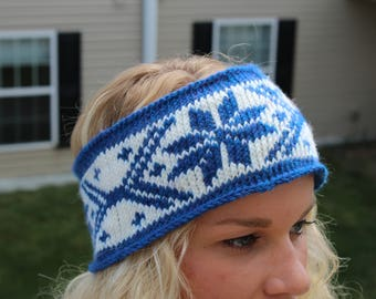 Handmade Knitted Winter Headband