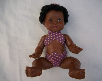 Ideal African American Baby Doll Vintage Black Doll