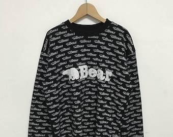 20% OFF Vintage Bear USA All Over Print Pullover/Surfing Clothing/Vintage Bear Shirt/hawaiian Surf