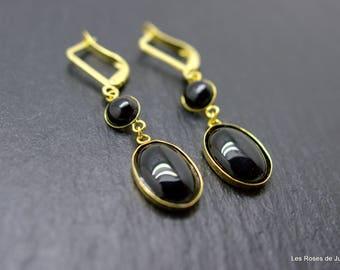 art nouveau earrings, earrings