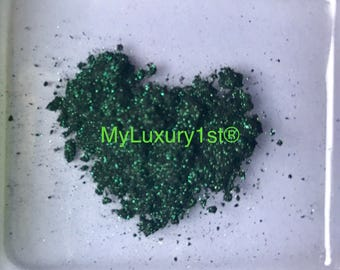 Loose Glittering Green Shimmering Dollied Up Pigment by Denise for Eyes, Face Eye Shadow, Lip Powder Color, Nail Polish Making, Soap Making