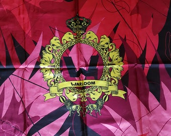 WARLOOM MANGIAFUOCO silk scarf made in Italy