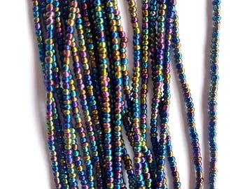 Two Strands African Waist Beads/ Ethnic Beads/ Body Jewelry