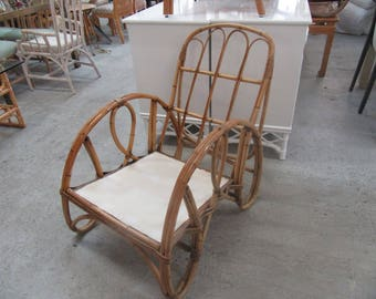 Old Florida Bamboo Lounge Chair
