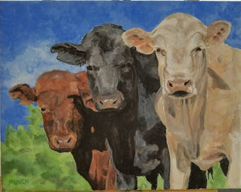 How Now Brown, Black & White Cow?