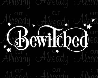 Bewitched-SVG-Digital File