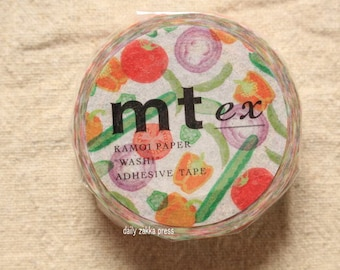 mt ex Washi Mssking Tape | vegitable Washi Masking Tape | Decorative Tape - 15mm x 10m