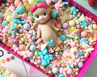 Easter Bunny Sprinkle Mix (50g Bag)