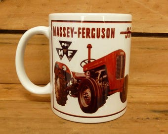 300ml Coffee Mug - Vintage Tractor - Massey Ferguson 35 MF35