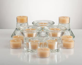Scented Beeswax Tealight Candles (Fragrance Oil)