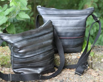 Inner tube shoulder bag