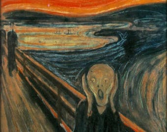 Poster, Many Sizes Available; The Scream Edvard Munch