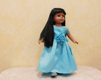 Ice Princess Costume for 18 inch Dolls