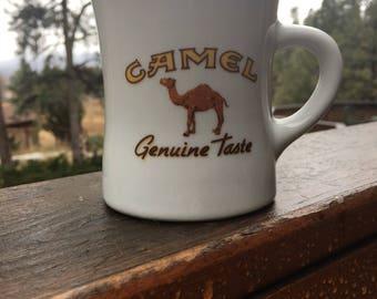 Vintage Camel Cigarette Collectors Cup-Camel Coffe Cup-Camel Cigarette Cup-Collectors Item-Camel Joe-Vintage Mug