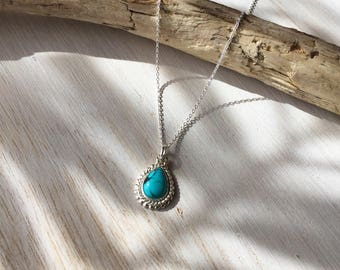 Drop Turquoise Necklace