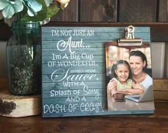 Personalized Gift For Aunts, I'm Not Just An Aunt I'm A Big Cup of Wonderful, Favorite Aunt, Neice and Nephew, Birthday Gift, Christmas Gift
