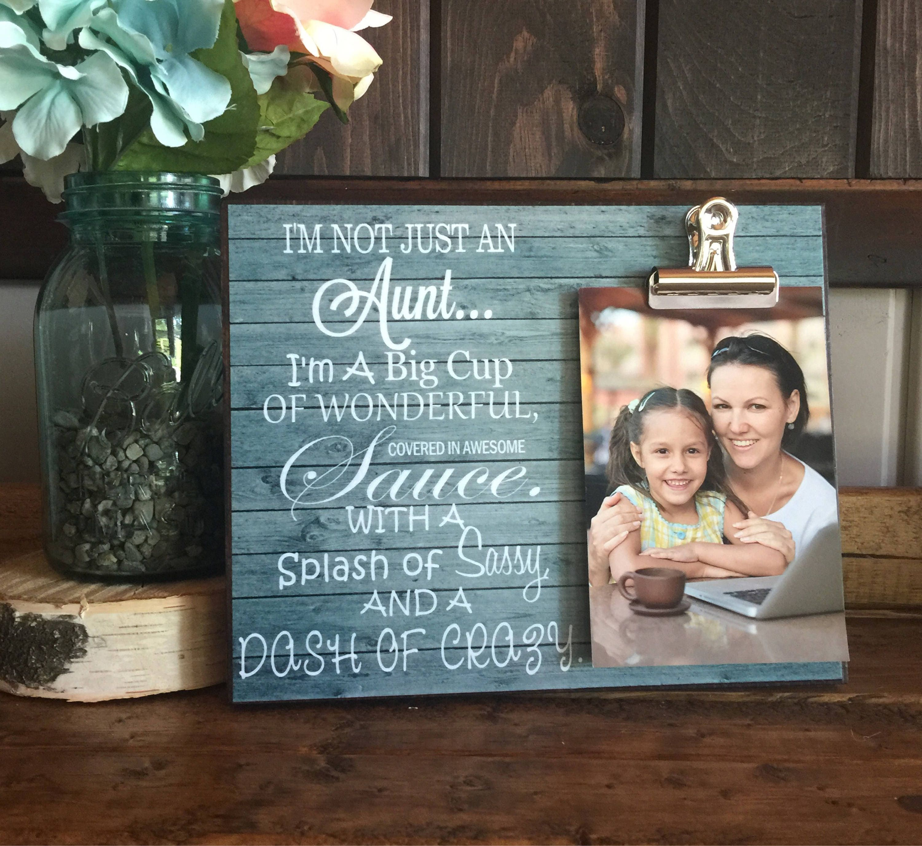 Wedding Gift For Aunt: Personalized Gift For Aunts I'm Not Just An Aunt I'm