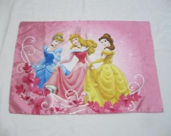 Vintage Disney Satin Like Standard Size Pillow Case I only Have One See Details