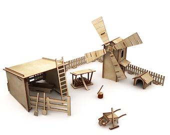 "Toy set ""Farm"""