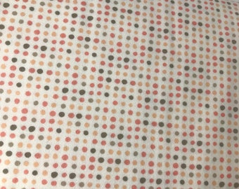 Flannel Fabric - Rosie Cheeks Dots - Corner of 5th and Fun - Moda Fabrics