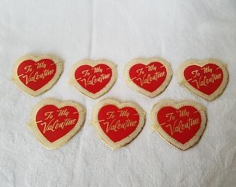 Vintage Valentine Day Seals
