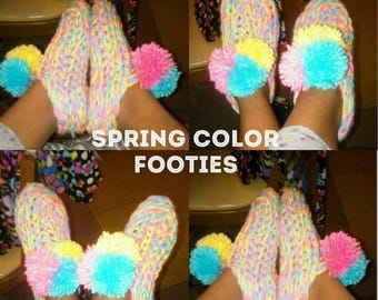Colorful Footies