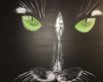 Canvas Acrylic The Cat