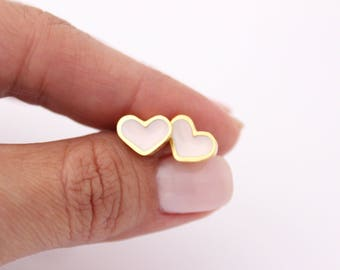 Mini Hearts Earrings