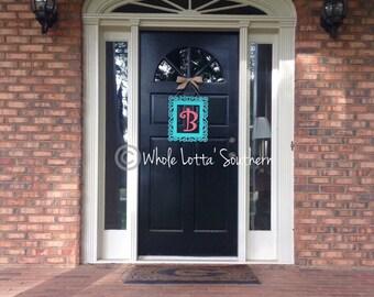 Wooden Letter doorhanger