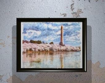 Washington monument - Original