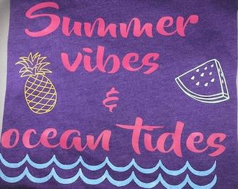 Summer Vibes & Ocean Tides